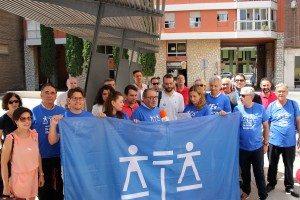 Advocats del col.legi d'Alzira este migdia