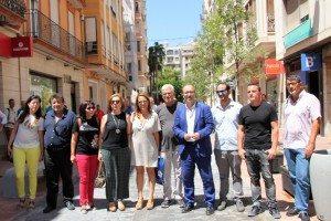 L'equip de govern hui en Pérez Galdós