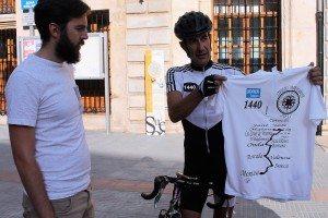 Sueca ciclista orde montesa