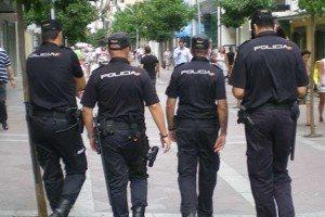 Policia nacinal agents