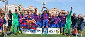 El Barça campió de l'anterior edició