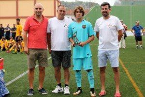 Pablo Moreno (Barça) màxim golejador