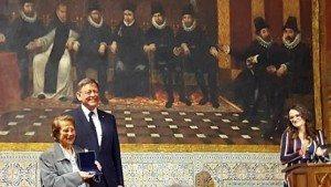 Didín amb el president de la Generalitat
