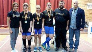 Les xiques aconseguiren tres medalles d'or