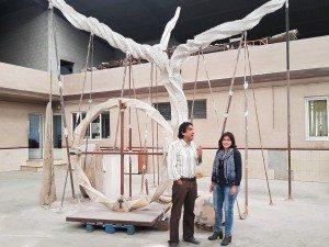 Jaume Espí amb Isabel Aguilar