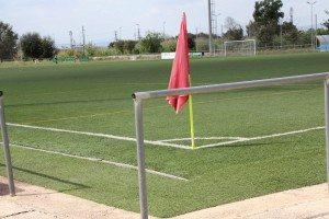 Tulell camp futbol gespa