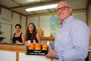 Cirilo Arnandis en la Fira Gastronòmica de l'Alcúdia