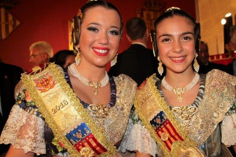 Lourdes Burgos i Aitana Carbó