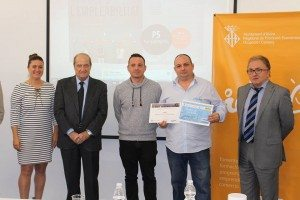 Jaime Rossell amb el premi