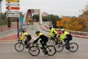 Pont de ferro alzira ciclistes