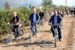 Via Verda bicis aut La Barraca