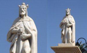 Jaume I en Alzira
