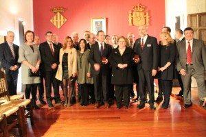 Jaume I premiats i corporacio