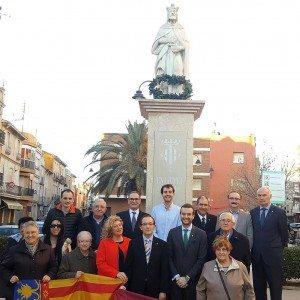 PP Jaume I ofrena