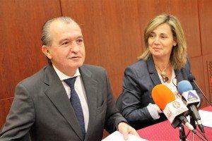 Enrique Lahuerta i Elena Bastidas este migdia