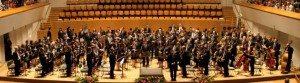La banda d'Alberic en el Palau de la Música