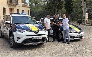 Alberic Policia hibrids