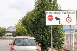 Redona limit 30 Av. Vicent Vidal