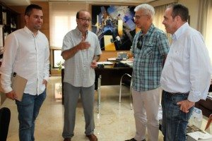 Dirigents de CMPlastik s'han reunit amb l'alcalde