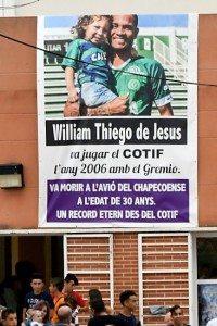 Chapecoense thiego de Jesus