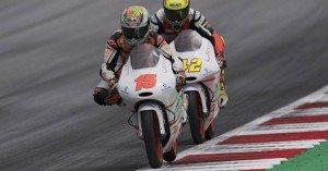 Jaume Masiá acaba nové en Moto3