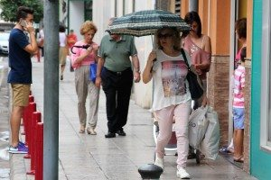 Ahir en un carrer d'Alzira