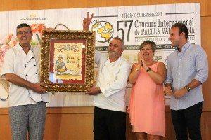 Els cuiners d'Alaquàs amb el 1er premi