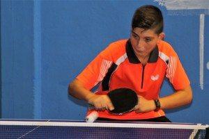 Tennis taula campio xaval