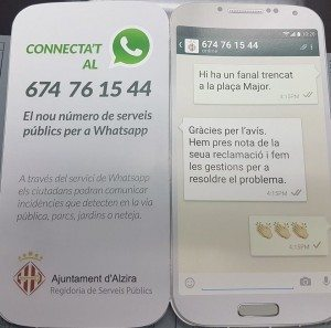 whatsapp alzira