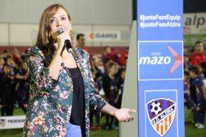 Aida Ginestar regidora d'Esports