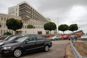 Aparcament de l'Hospital d'Alzira