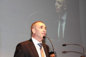 Josep Gregori anit en la gala dels premis