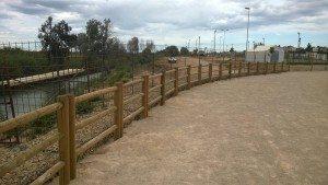 Passeig Fluvial tanca 2
