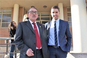 Antonio Llácer i Carlos Catena advocats de l'acusat