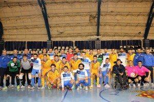 El Nítida i la selecció han redit homenatge a Juan Beteta