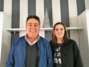 Enrique Baeza i Estefania Sifre